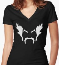 Heihachi Mishima Tekken Women's Fitted V-Neck T-Shirt