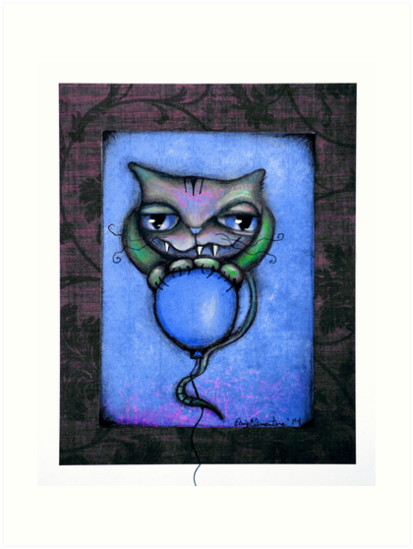 Original BabyCat Art by ANGIECLEMENTINE by Angieclementine