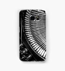 Typewriter. Samsung Galaxy Case/Skin