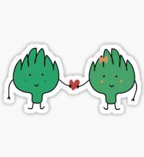 Un amour d'artichaut Sticker