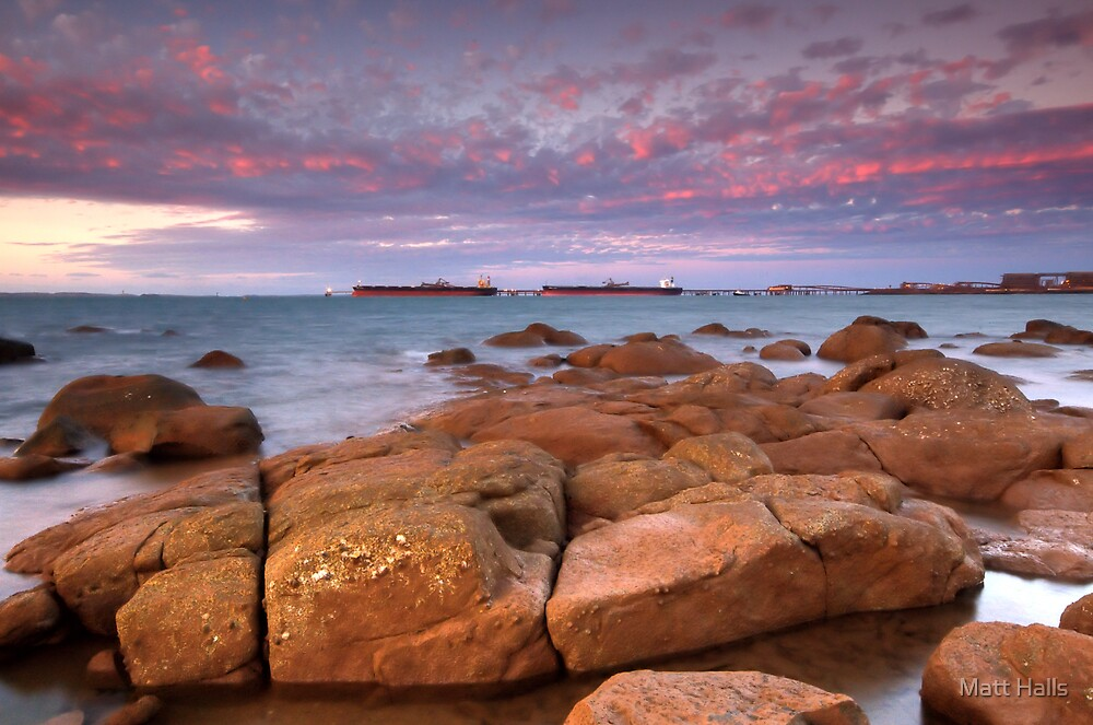 Pilbarra Iron Port by Matt Halls