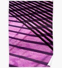Deep Purple Shadows Poster