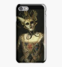 Dark Carnival, vintage mask fantasy iPhone Case/Skin
