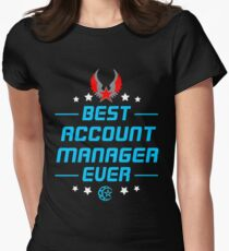 account manager - solve and travel design Women's Fitted T-Shirt
