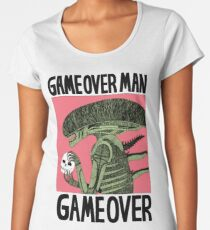 Game Over Man - Game Over Women's Premium T-Shirt