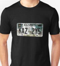 Supernatural Impala Kansas Plate T-Shirt