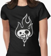 Zombie Skull Women's Fitted T-Shirt