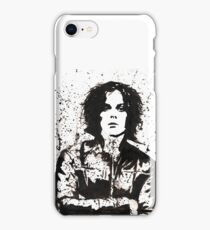 Jack White Ink Painting iPhone Case/Skin
