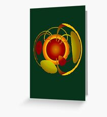 Earth Garden Greeting Card