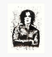 Jack White Ink Painting Art Print