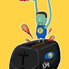 Klay Toaster by mykowu