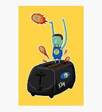 Klay Toaster Photographic Print