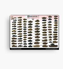 Panzers ! Canvas Print