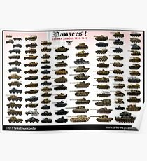 Panzers ! Poster