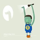 Klay Thompson Play Time by mykowu