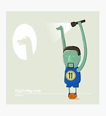Klay Thompson Play Time Photographic Print