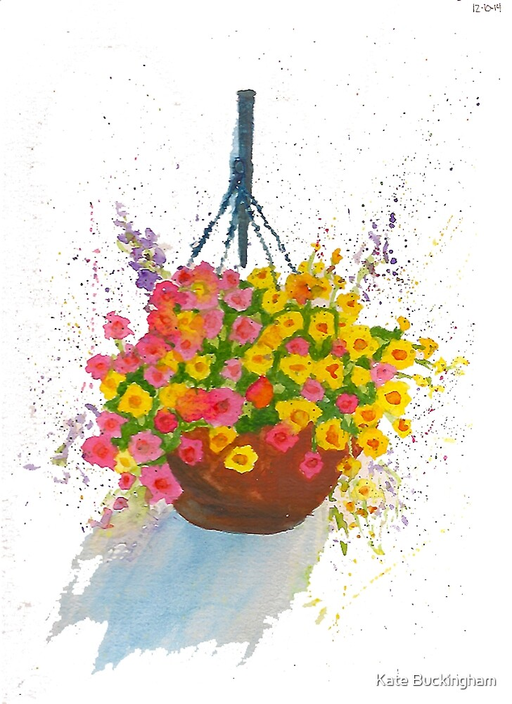 Hanging Basket by TheKatydid
