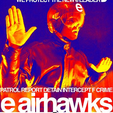 """e airhawks """"air security"""" poster by edeology"""