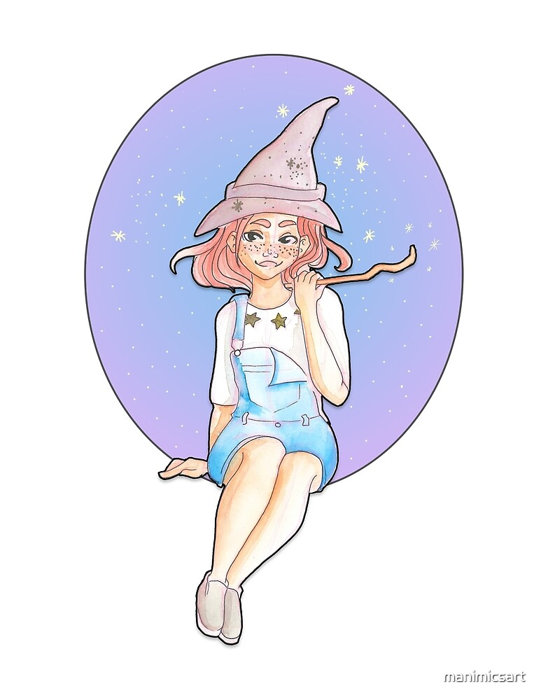 Little Witch by manimicsart