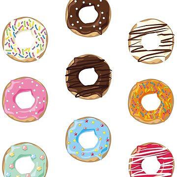 Donut Pattern by deheleisa