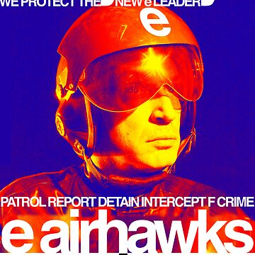 """airhawks """"e skyboys"""" poster by edeology"""