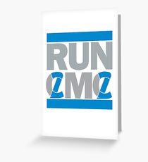 RUN CMC Greeting Card