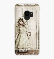 Vintage Girl Case/Skin for Samsung Galaxy