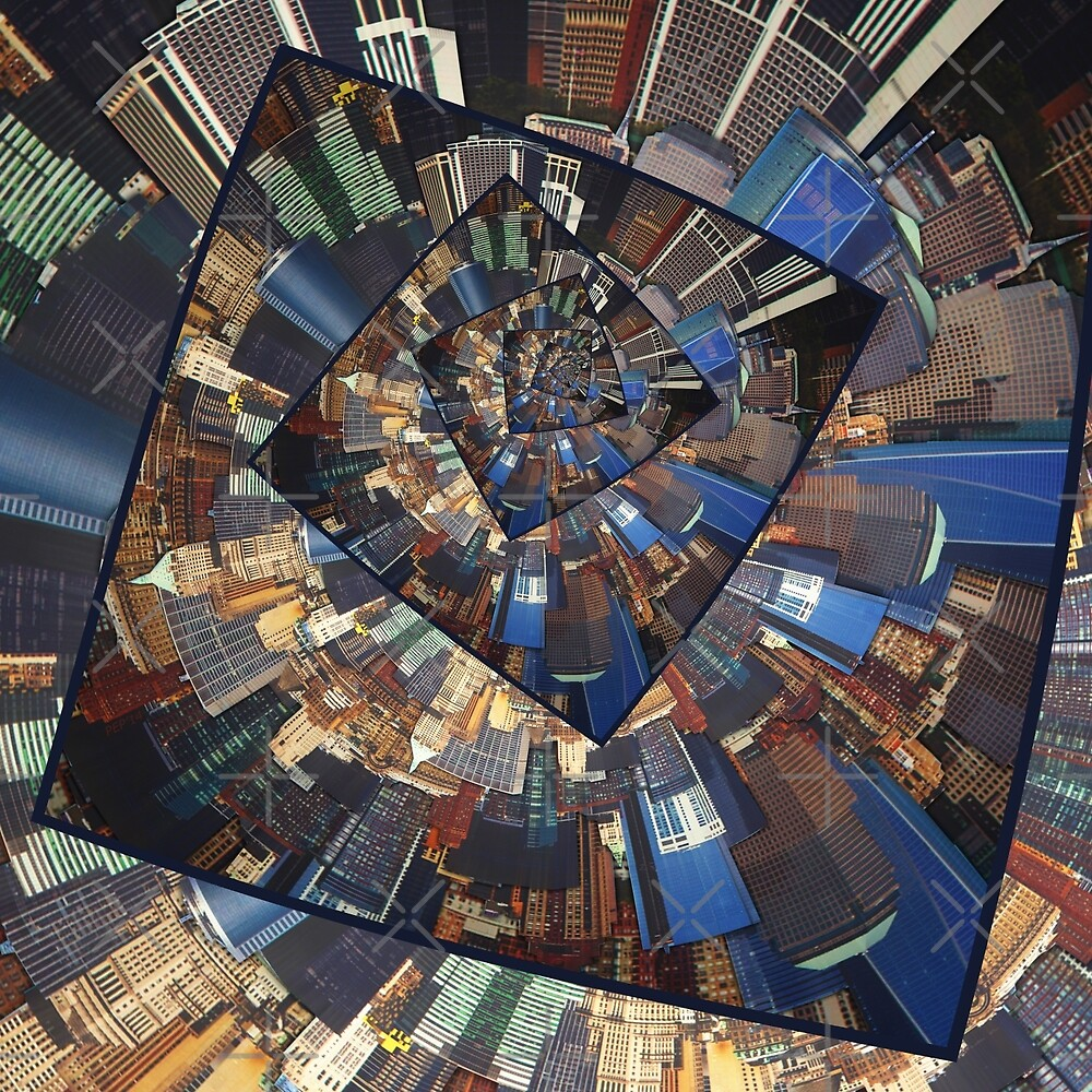 Spinning City Walls by Phil Perkins