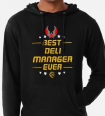 deli manager - solve and travel design Lightweight Hoodie