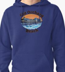 Old Orchard Beach Pier Pullover Hoodie