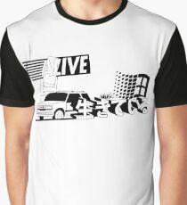 生きているVAPOR reimagined Graphic T-Shirt