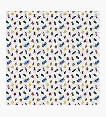 Colorful Bug Pattern 2 Photographic Print