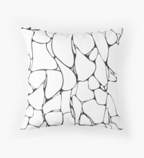 Marble. Abstract pattern Throw Pillow