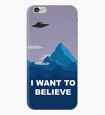 I WANT TO BELIEVE - PHONE CASE iPhone Case