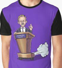 Spicy Sean Spicer - SNL Graphic T-Shirt