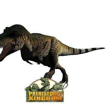 Prehistoric Kingdom T-Rex Male by prehistoricking