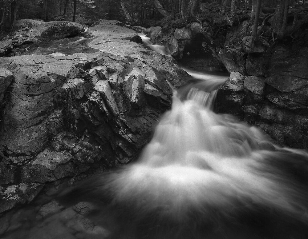 Upper Falls, Laconia Notch, NH by halnormank