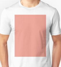 0117f2dcd28ed Boho chic girly peach color Blush Pink Coral Unisex T-Shirt