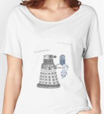 Illustrate Dalek Women's Relaxed Fit T-Shirt