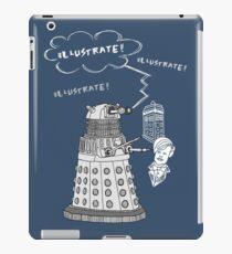 Illustrate Dalek iPad Case/Skin