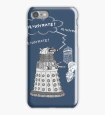 Illustrate Dalek iPhone Case/Skin