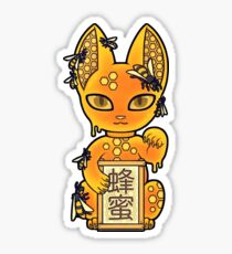 Wrong Neko: Beehive Sticker