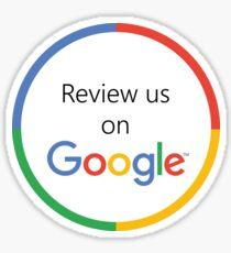 Überprüfe uns auf Google Sticker