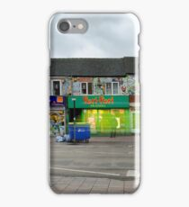 Busy street in Oxford, England iPhone Case/Skin