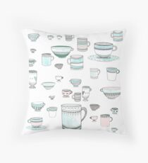 Daily Tea Quota Throw Pillow