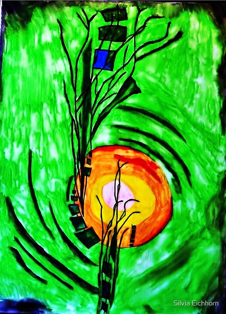 grünes leben by Silvia Müller