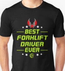 FORKLIFT DRIVER Unisex T-Shirt