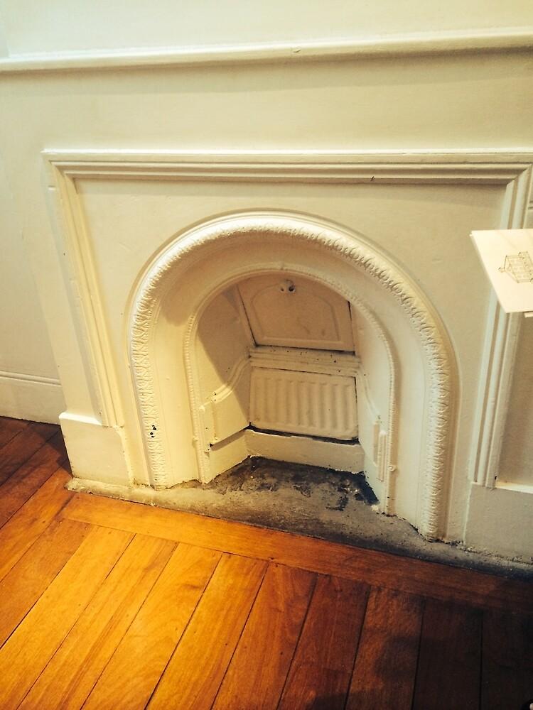 Old Fireplace by Chantelle Ashton