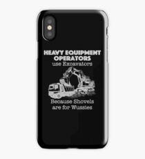 Heavy Equipment Operator T Shirt for Excavators  iPhone Case/Skin