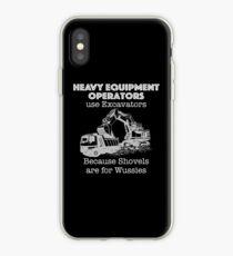 Heavy Equipment Operator T Shirt for Excavators  iPhone Case